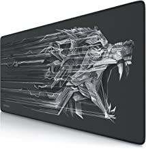 Titanwolf XXL Speed Gaming Mouse Mat | Mouse Pad 900 x 400mm | XXL mousepad | table mat large size | improved precision and speed | rubber base for stable grip on smooth surfaces | non-slip