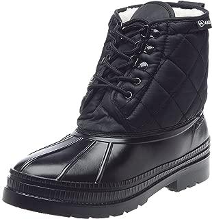 Paddy Fur Lined Ankle Boots US Men 9 9.5 (EUR. 43) Noir