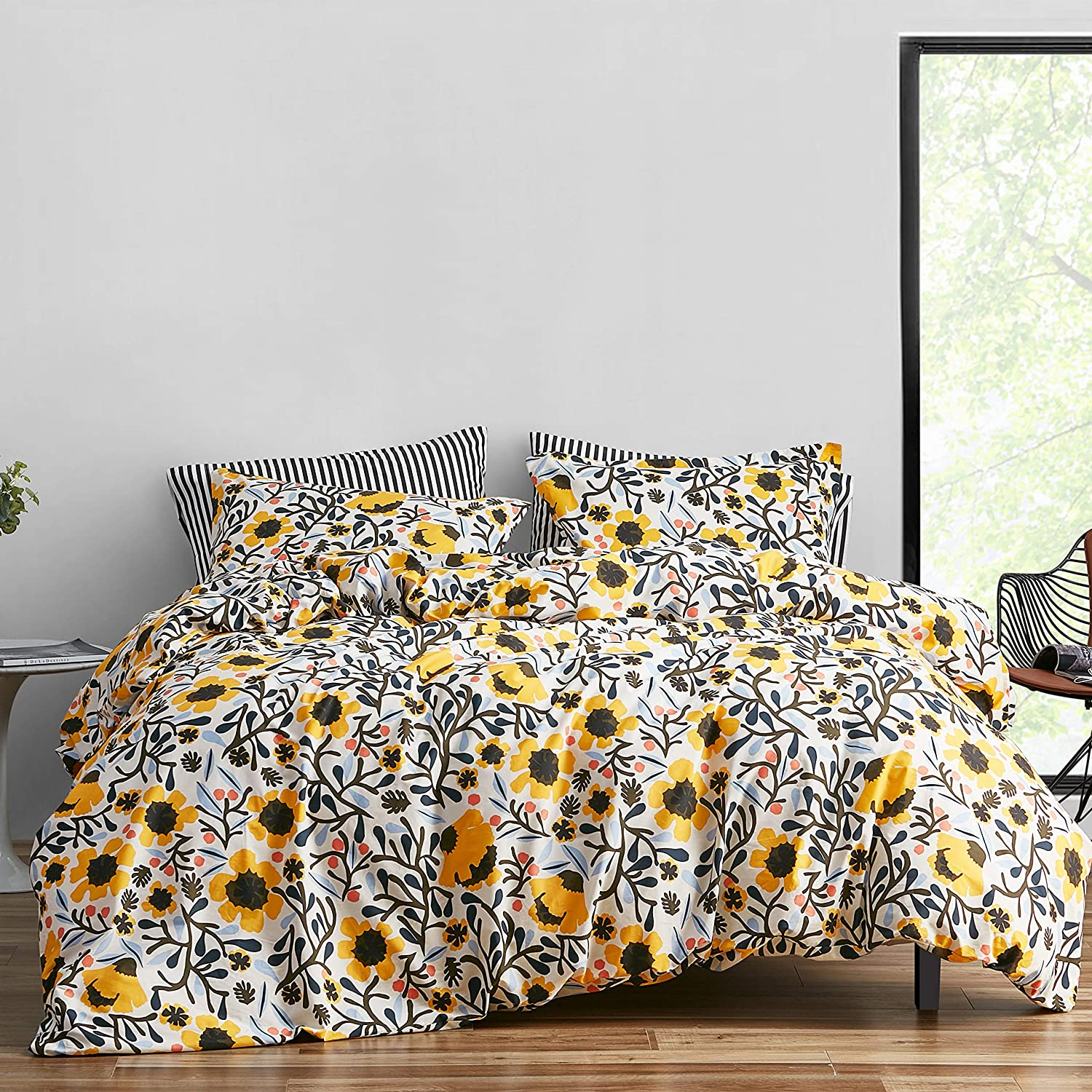 Marimekko Mykero Duvet Cover At the price of surprise Multicolored King Set Easy-to-use