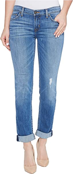 Tally Cropped Skinny Five-Pocket Jeans in Intruder