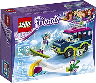 LEGO Friends Snow Resort Off-Roader 41321 Building Kit (141 Piece)