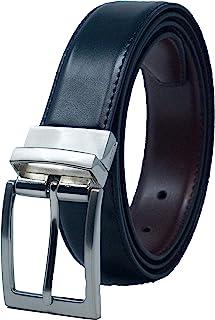 Cintur/ón para pantal/ón Mil-Tec RW piel, 30 mm color negro