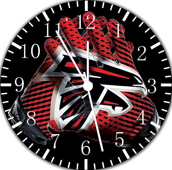 Falcons Frameless Borderless Wall Clock F91 Nice For Gift Or Room Wall Decor