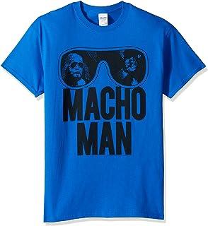 تي شيرت رجالي مطبوع عليه Macho Man Ooold School من American Classics