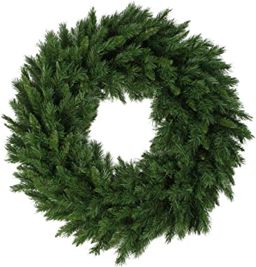 Northlight Lush Mixed Pine Artificial Christmas Wreath - 36-Inch, Unlit