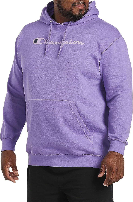 Champion Fleece Hoodie, Iris Purple