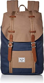 Retreat Mid-Volume Backpack, Navy/pine bark/Tan, One Size