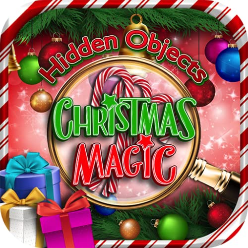Hidden Objects Christmas Magic Winter Holiday - Object Time Puzzle Seek & Find Santa Game in New York, London, Paris, Las Vegas, Florida