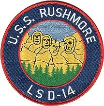 USS Rushmore LSD-14 Patch