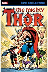 Thor Epic Collection: War Of The Pantheons (Thor (1966-1996) Book 16) Kindle Edition