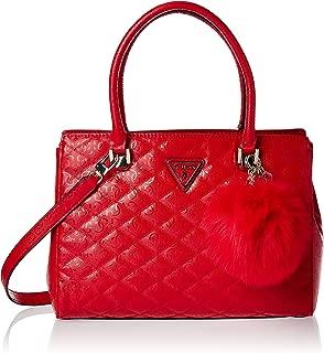 GUESS Women's Satchel Handbag, Red - SG747909