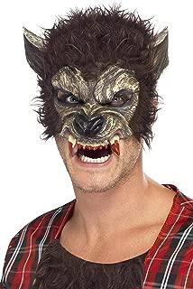 Men's Werewolf Half Face Mask