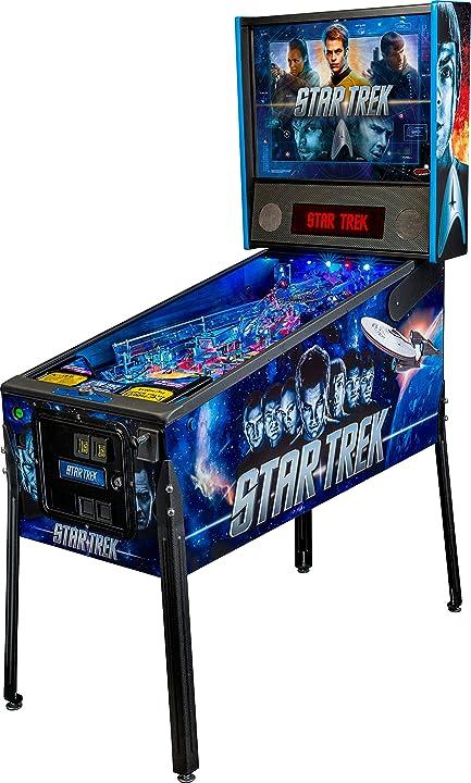 Flipper star trek  pro arcade pinball machine stern pinball 1503