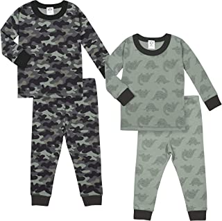 Gerber Baby-Boys Organic 2 Pack 2-Piece Cotton Pjs Sleepers