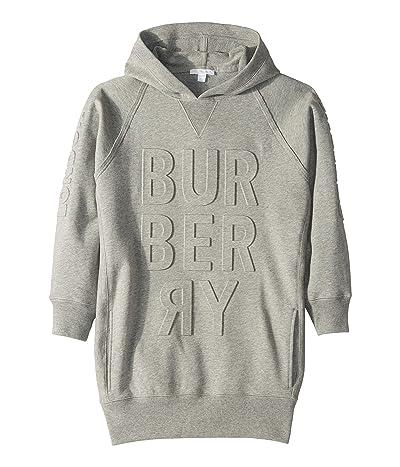 Burberry Kids Aurora Dress (Little Kids/Big Kids) (Grey Melange) Girl
