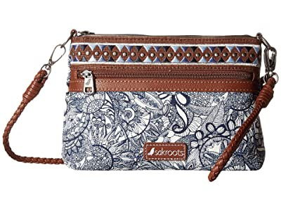 Sakroots Artist Circle Campus Mini (Navy Spirit Desert) Cross Body Handbags