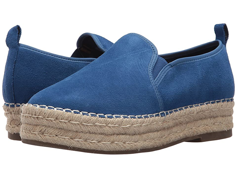 Blondo Basha Waterproof Espadrille (Blue Suede) Women