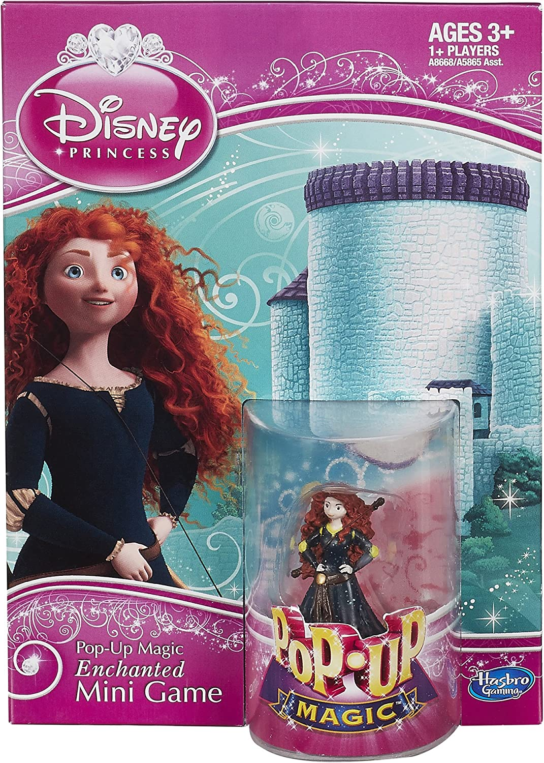 Disney PopUp Magic Enchanted Mini Game Featuring Merida