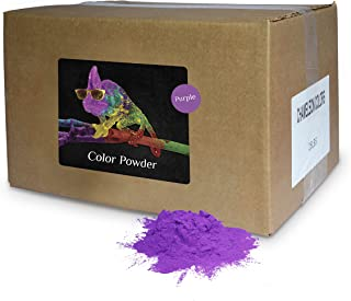 Holi Powder Bulk by Chameleon Colors - Purple - 25 lbs. Pure, Authentic Fun - Perfect for a Color Race, 5k, Festival, Party or Any Other Event You Want to Make Colorful.