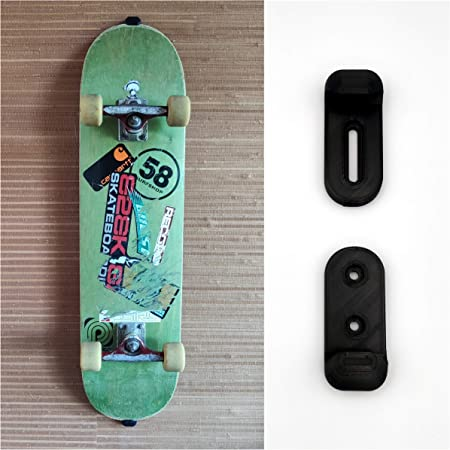 langlebig hohe Belastung advancethy Skateboard-Wandaufh/ängung Longboard-Skateboard-Halter unsichtbare Skateboard-Wandhalterung Acryl-Wandhalterung