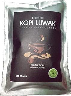 100% Arabica Cat Coffee / Civet Coffee Powder - Kopi Luwak Mbah Djono (50 gr) - Buy Direct from Farmer