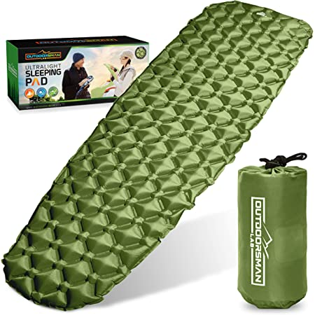 Camp Sleeping Pad for Camping,Large Size6.7 x 35.4 Travel Hiking Ultralight Innovate Portable Waterproof Camping Pad,Best Sleep Mattress for Backpacking