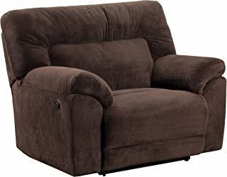 Simmons Upholstery Madeline Power Cuddler Recliner Chocolate Color