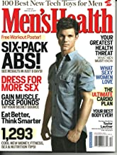Men's Health December 2009 Taylor Lautner Best Guy Foods in America The Ultimate Cardio Plan Your Greatest Health Threat