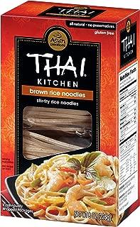 Thai Kitchen Gluten Free Brown Rice Noodles, 8 oz