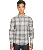 Jack Spade - Palmer Heathered Double Face Plaid Button Down