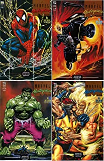Marvel Masterpieces Collection #1-4 Complete Limited Series (Marvel Comics 1993 - 4 Comics)