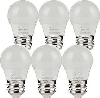 LumenBasic 12V LED Bulbs - E26 E27 12vdc 12vac Light Bulbs Low Voltage Edison AC DC Screw in Light Bulbs for Off Grid Solar Lighting Marine Boat Rv Camper 40 Watts Replacement Cool Daylight White