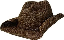 San Diego Hat Company - PBC2443OS Paperbraid Cowboy w/ Double Braid Trim