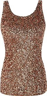 Best rose gold sequin tank top Reviews