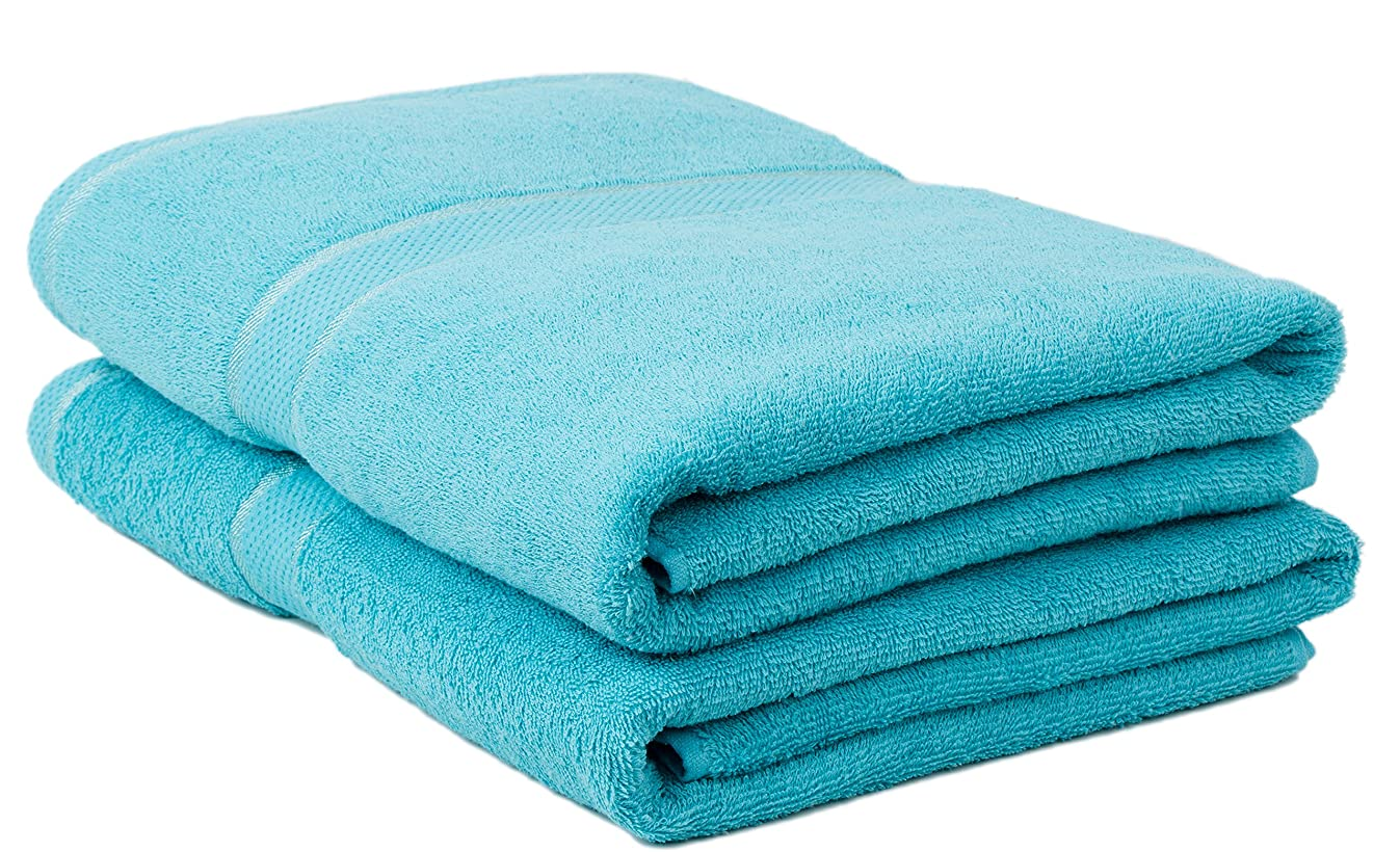 Classic Collection Premium 100% Organic Cotton Oversized Extra Large Bath Towels 34