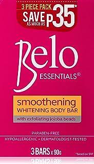 Belo Essentials Smoothening Whitening Body Bar 90 g, Pack of 1