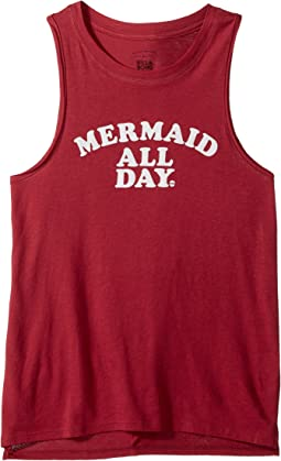 Billabong Kids - Mermaid All Day Tank Top (Little Kids/Big Kids)