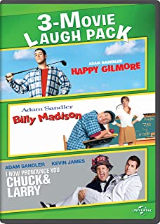 Happy Gilmore / Billy Madison / I Now Pronounce You Chuck & Larry 3-Movie Laugh Pack