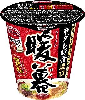 エースコック 全国ラーメン店マップ 福岡編 ラーメン暖暮 辛ダレ豚骨ラーメン 濃口 97g×12個