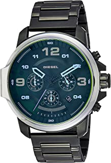Diesel Men's DZ4434 Whiplash Stainless Steel and Black IP Watch