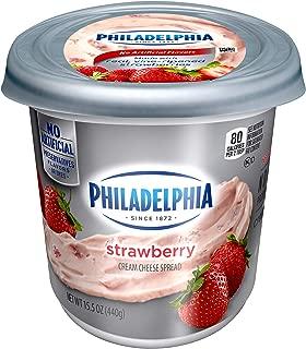 Philadelphia Strawberry Cream Cheese Spread (15.5 oz Tub)
