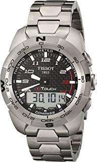 Tissot Men's T0134204420200 T-Touch Expert Titanium Watch