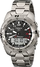 Tissot Men's T0134204420200 T-Touch Expert Titanium Watch