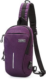AmHoo Sling Backpack Anti Theft Waterproof Crossbody Bag Fashion Daypack