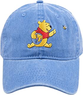 Disney Winnie the Pooh Baby White Hats 2 Pack