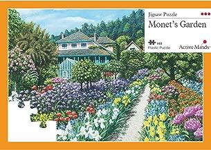 Active Minds 63 Piece Monet's Garden Jigsaw Puzzle   Specialist Alzheimer's/Dementia Activities & Games
