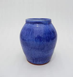 Cobalt Blue Handmade Ceramic Flower Vase