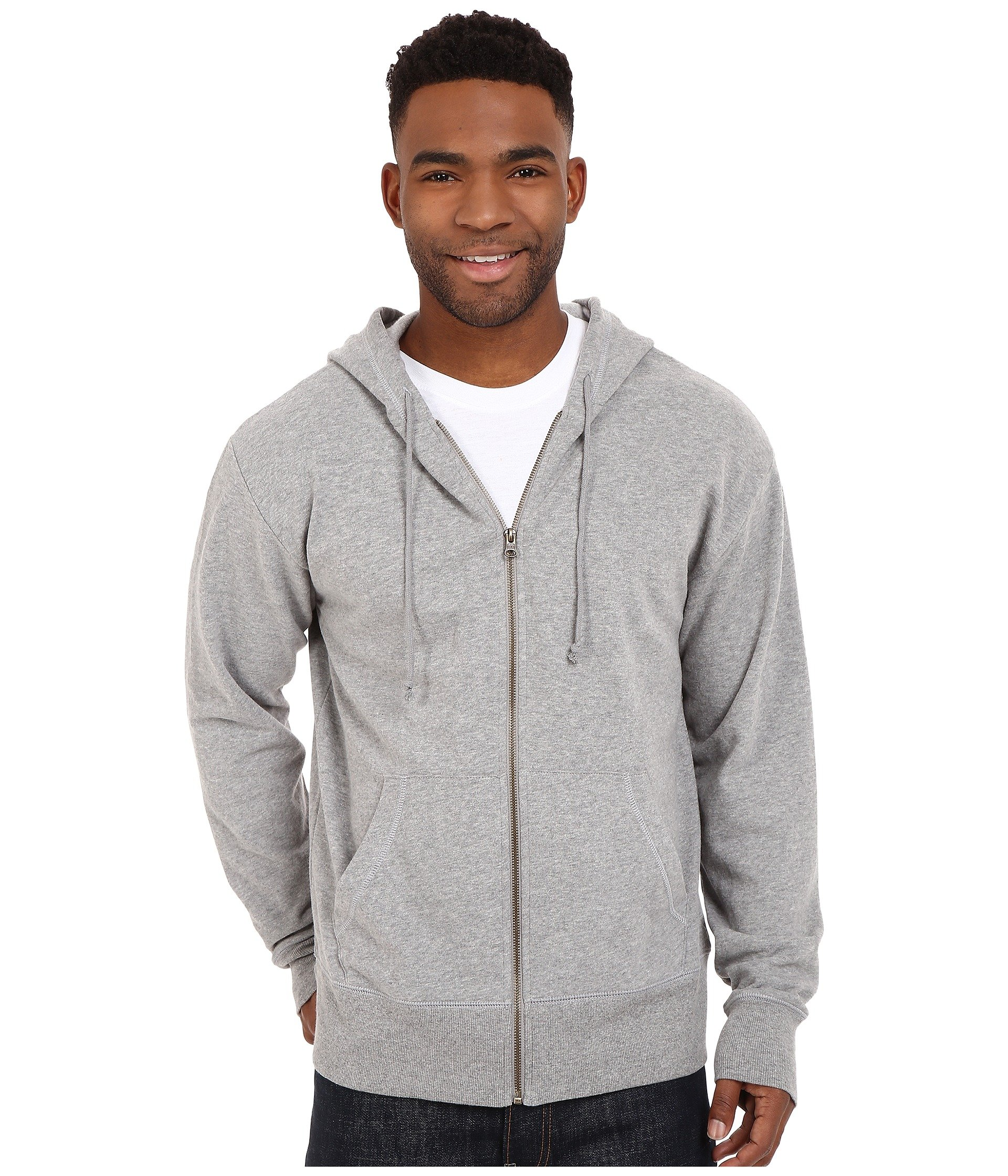 Buzo o Chaqueta Deportiva para Hombre Life is Good Circle Wave Go-To Zip Hoodie  + Life is Good en VeoyCompro.net