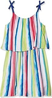 فستان بدون أكمام بتصميم مطبوع من نوتيكا