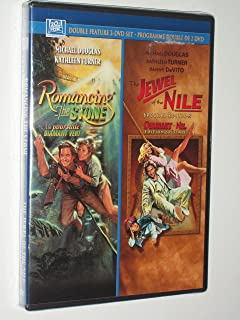 Romancing The Stone + The Jewel Of The Nile  Set
